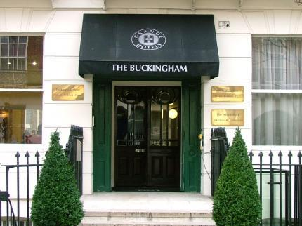 The Buckingham Hotel in London